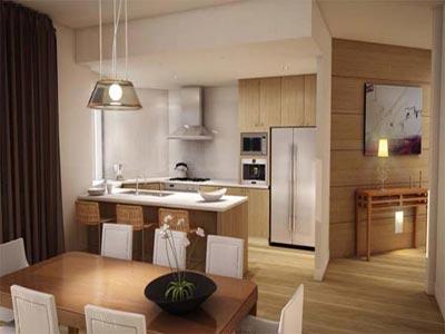 Cocinas con estilo moderno for Cocinas estilo moderno