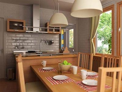 Cocinas con estilo moderno for Cocina estilo moderno