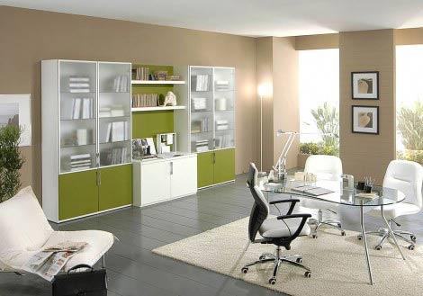 Decoraci n de oficinas con giessegi for Decoracion de oficinas