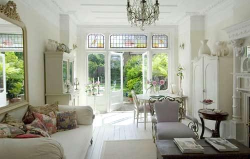 Casa con decoraci n estilo franc s - Casas estilo romantico ...