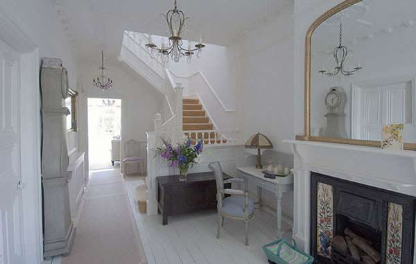 Casa con decoraci n estilo franc s Casas estilo romantico
