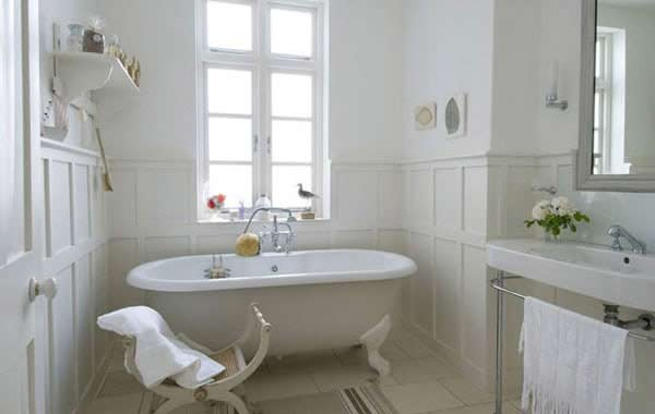 Casa con decoraci n estilo franc s for French style bathroom design