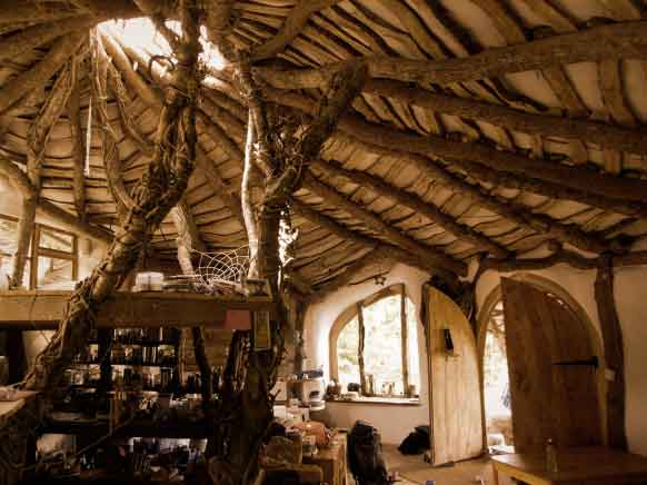 Casa estilo hobbit perfecto ambiente - La casa de los hobbits ...