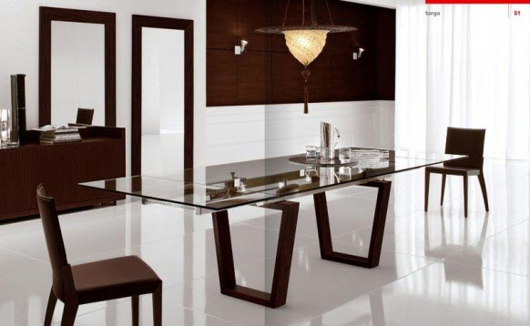 Ideas para decorar el comedor - Modern dining table ideas ...