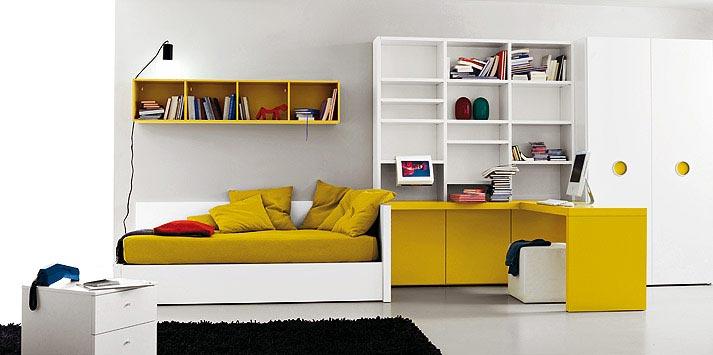 Decoraci n e ideas para mi hogar 10 modernos dormitorios for Dormitorio adolescente
