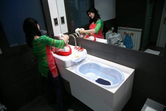 Muebles De Baño Para Ninos:ver hoy es practiquísimo para los padres Se trata de un mueble para
