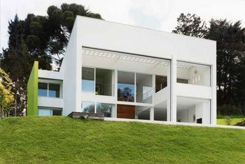 La casa c bica de jos k s for Casa minimalista concepto