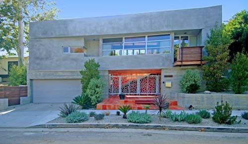 moderna casa de cemento en los ngeles