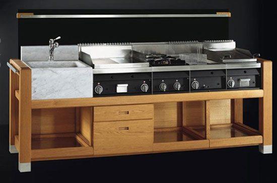 cocinas para exterior de j corradi perfecto ambiente