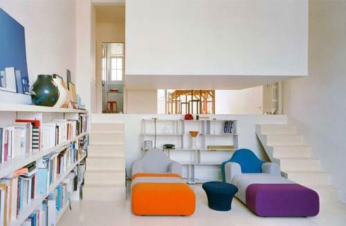 Mi parte preferida es el espacio dedicado a la lectura , con una ...