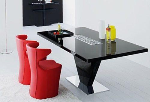 Mesas modernas para peque os espacios - Mesas para espacios pequenos ...