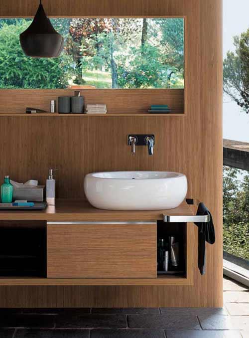 Muebles de madera para el ba o - Muebles de bano madera ...