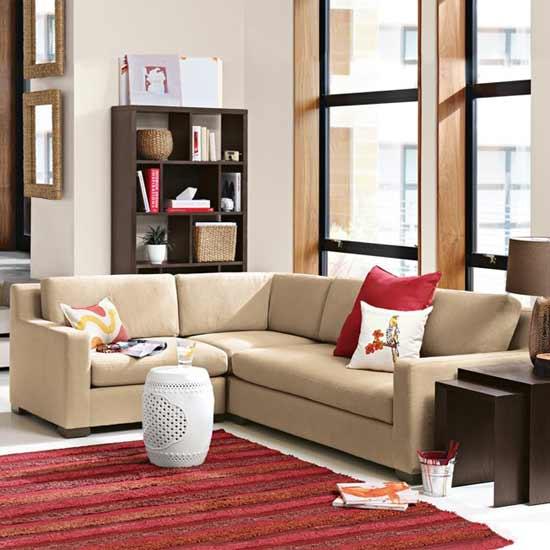 Decoraci n de salas modernas for Salas en l modernas