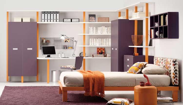 Dormitorios para adolescentes por Tumidei
