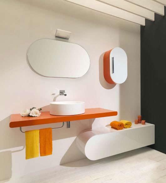 Coloridos muebles para el ba o de lasa idea perfecto ambiente - Por donde salen las cucarachas en el cuarto de bano ...