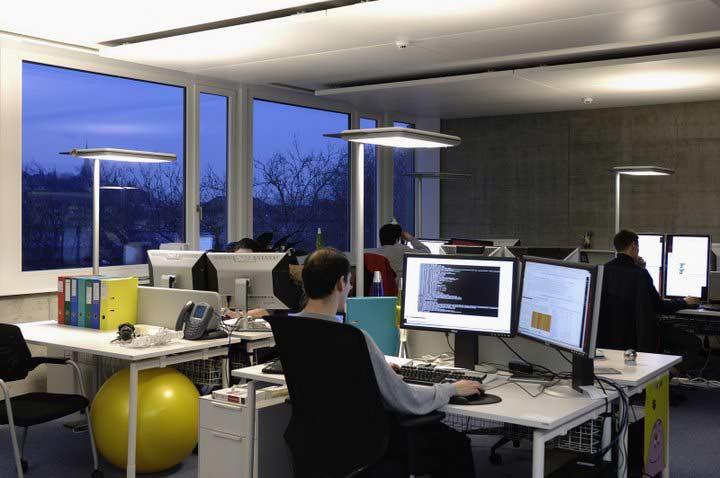 las oficinas de google en zurich