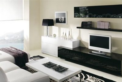 Decoración de salas modernas