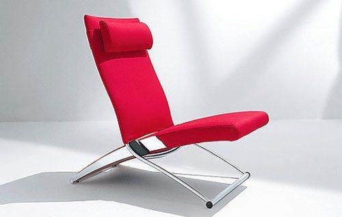 Silla reclinable x chair for Sillas de metal modernas