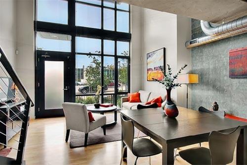 Lofts modernos en seattle for Casa moderna tipo loft
