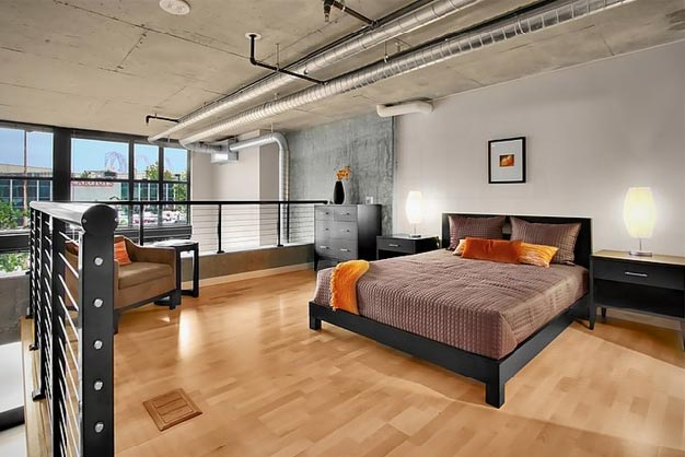 Lofts modernos en seattle for Cielos modernos