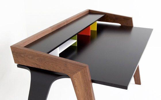 Escritorio moderno ld desk for Diseno escritorios modernos