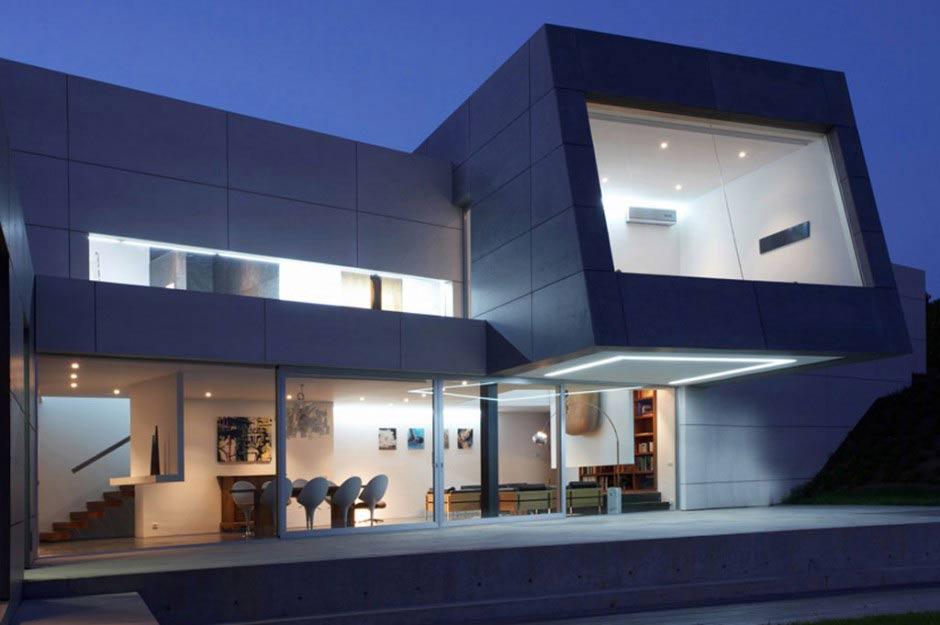Nueva casa de a cero en espa a - Casas modernas madrid ...