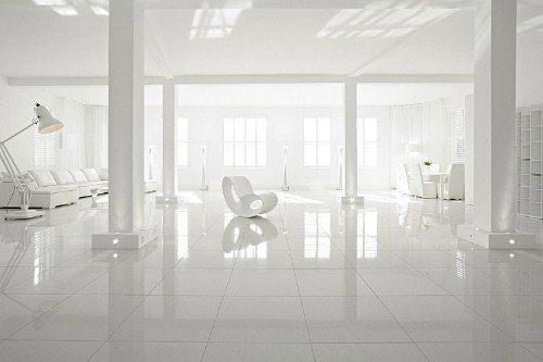 departamento completamente blanco