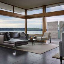 Moderna casa de madera de Bjarko Serra
