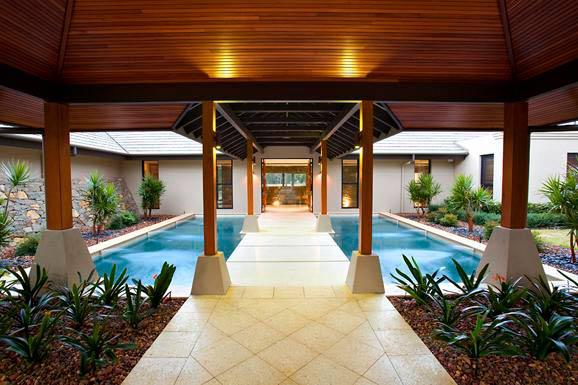una casa estilo zen paradis aca