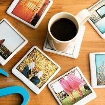 Apoya vasos Polaroid
