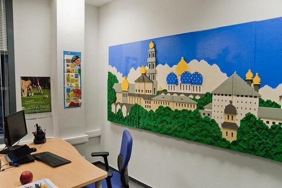 Oficinas de Lego en Moscú