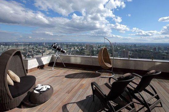Penthouse en Moscú