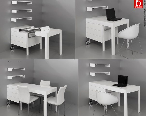 Kanap tko escritorios modernos de krassi dimitrov for Escritorios modulares modernos