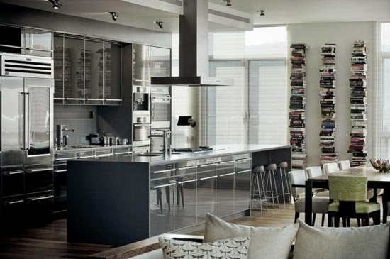 Most Beautiful Houses Interior Design Kitchen : Rene Desjardins se ocupó de transformar este amplio departamento en ...