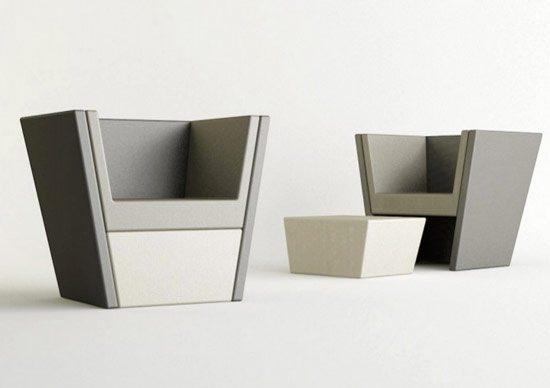 Galer a de sillones modernos for Sillones para oficina modernos