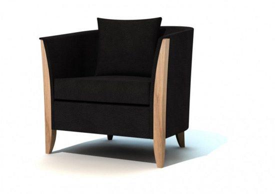 Galer a de sillones modernos - Sillones tapizados modernos ...