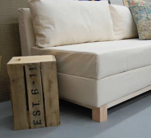 Como fabricar un sillon diy for Como hacer un sillon con una cama