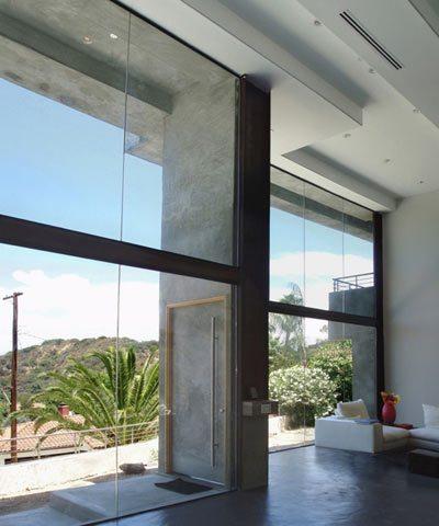 Casa moderna en los angeles for Casas modernas los angeles