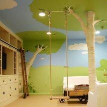 Dormitorio infantil: Casa en el arbol