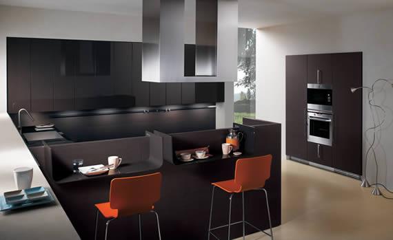 Muebles de cocina armarios modernos for Cocinas enteras
