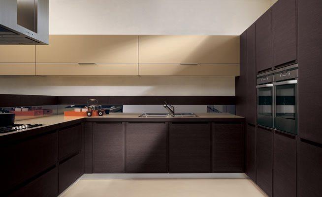 Muebles de cocina: armarios modernos •