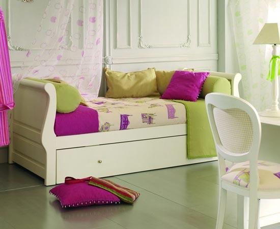 Cama nido una buena opci n para ahorrar espacio for Cama nido dos camas