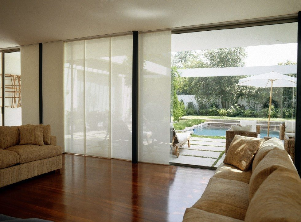 fotos de cortinas paneles orientales