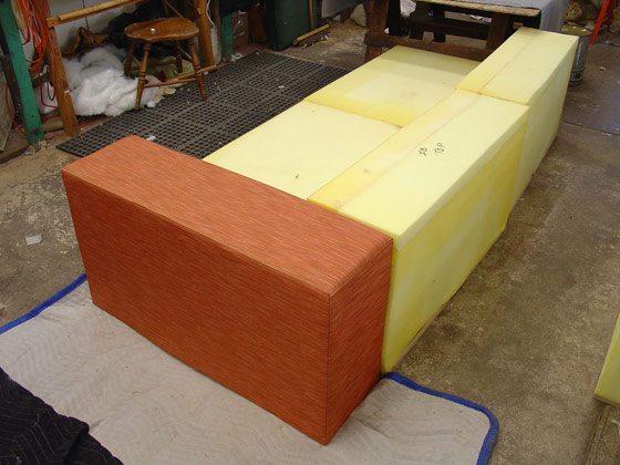 Hacer un sill n vistas de la estructura for Como hacer un sillon con una cama