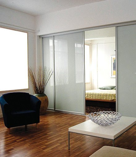 Separadores de ambientes de vidrio de spaceslide - Separadores de ambientes ...