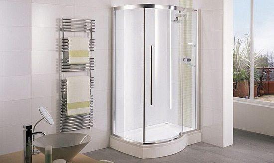 Ba era por ducha ventajas de la ducha - Duchas pequenas ...