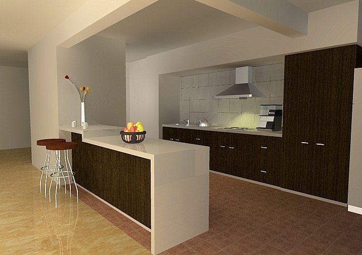 Habitaciones modernas cocinas for Disenos de cocinas integrales modernas fotos