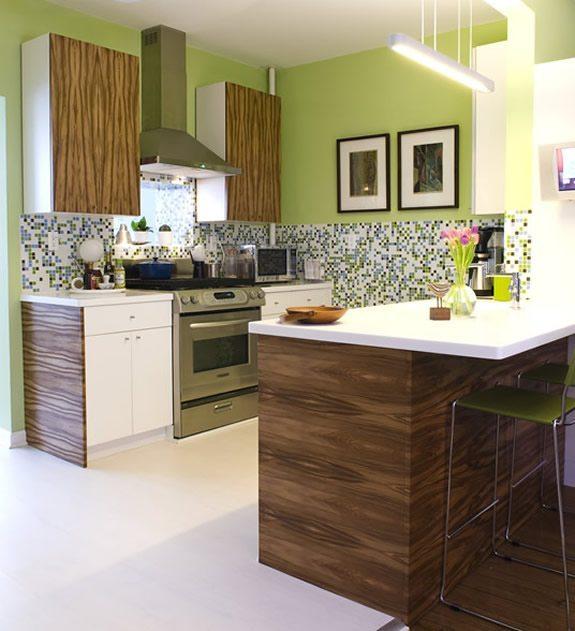Habitaciones modernas cocinas - Paredes de cocinas modernas ...