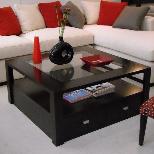 Mesas ratonas de madera en deco alquimia for Mesas en madera modernas