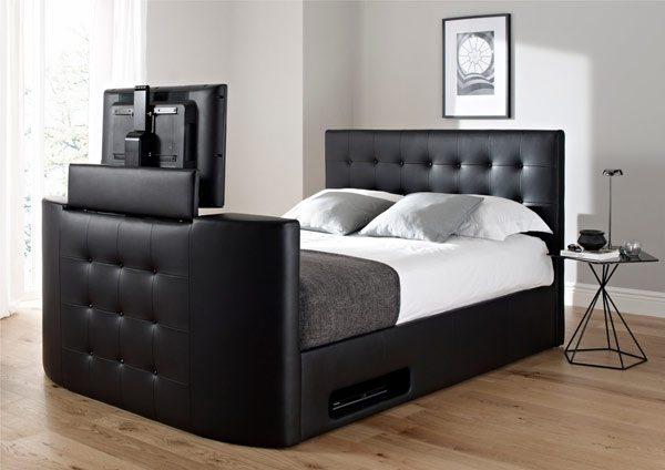 Camas con tv modelos modernos de time 4 sleep for Camas modernas para jovenes